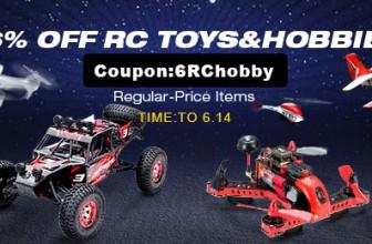 6% OFF RC Toys & Hobbies At Banggood.com