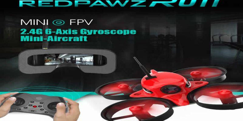Redpawz R011 FPV Racing Drone