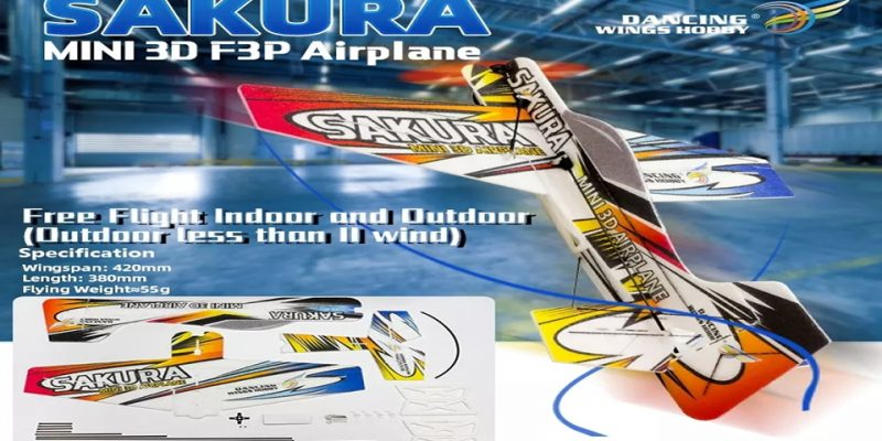 SAKURA E2101 MINI 3D RC Airplane
