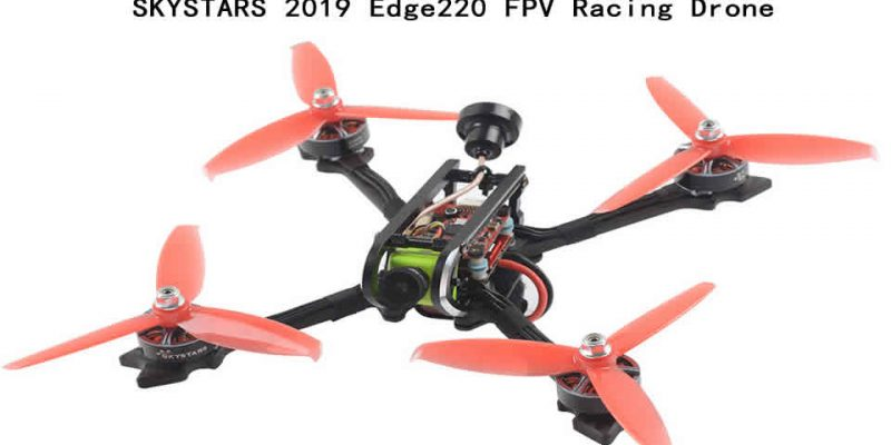 SKYSTARS 2019 Edge220 FPV Racing Drone