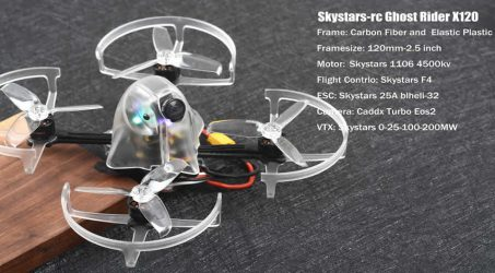SKYSTARS Ghost Rider X120 FPV Racing Drone