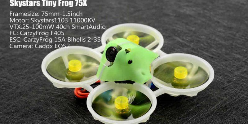 Skystars TinyFrog 75X FPV Racing Drone