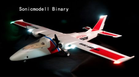 Sonicmodell Binary 1200mm Wingspan RC Airplane