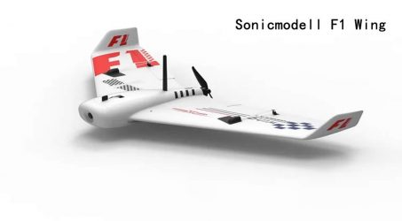 Sonicmodell F1 Wing 833mm RC Airplane KIT
