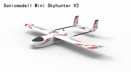 Sonicmodell Mini Skyhunter V2 RC Airplane