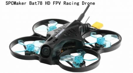 SPCMaker Bat78 HD FPV Racing Drone