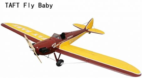 TAFT Fly Baby RC Airplane