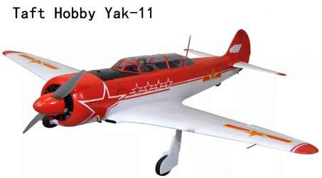 Taft Hobby Yak-11 RC Airplane