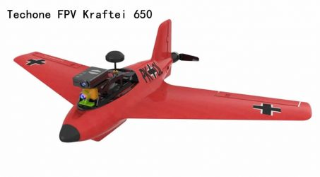 Techone FPV Kraftei 650 RC Airplane