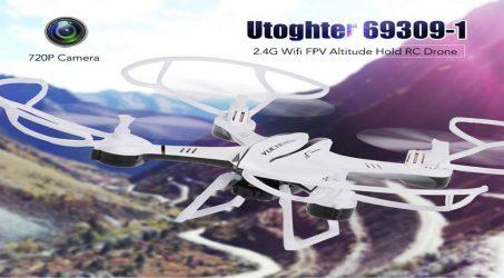 Utoghter 69309-1 RC Quadcopter – RTF