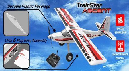 Volantex TrainStar Ascent 747-8 RC Airplane – PNP
