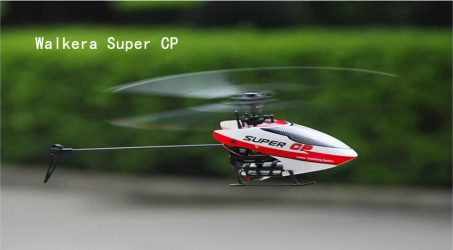 Walkera Super CP RC Helicopter – Red