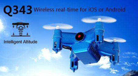 Weili Q343 RC Quadcopters – Blue