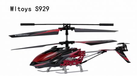 Wltoys S929 RC Helicopter – Red