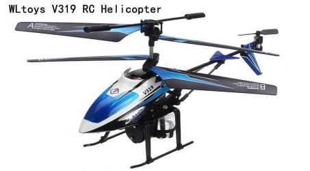 WLtoys V319 Radio Control Helicopter RTF – Blue