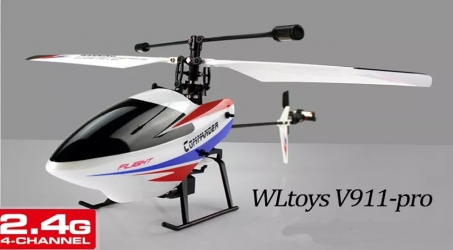 WLtoys V911 PRO 2.4G 4CH RC Helicopter