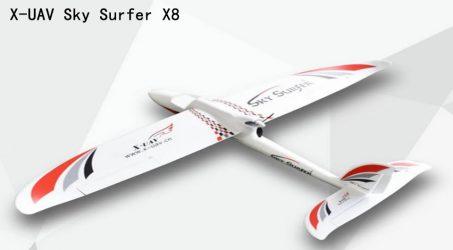 X-UAV Sky Surfer X8 RC Airplane