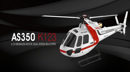XK K123 6CH Brushless RC Helicopter BNF