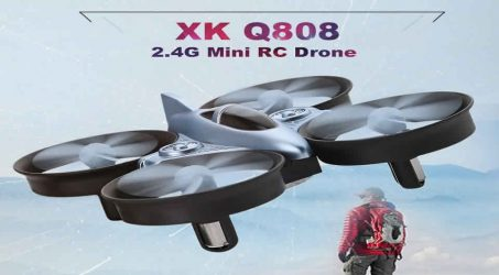 XK Q808 Mini  RC Drone