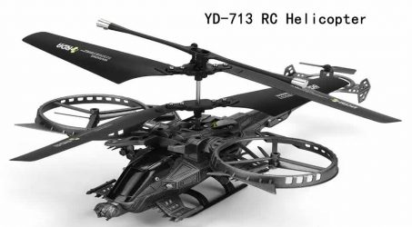 YD-713 RC Helicopter