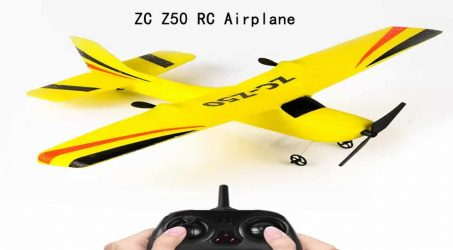 ZC Z50 RC Airplane RTF – Yellow