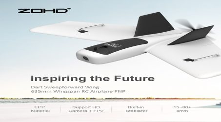 ZDHD Dart Sweepforward Wing RC Airplane